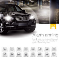 Wholesale Steelmate II C Way Car Central Locking System Alarm System Upgrade Remote Engine Immobilization Door Trunk Hood Protection