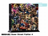 Wholesale Skin Sticker for Sony Playstation Console System For PS4 Dualshock Controller Street Fighter