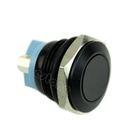 Cheap Free Shipping 16mm Start Horn Button Momentary Stainless Steel Metal Push Button Switch Black order<$18no track
