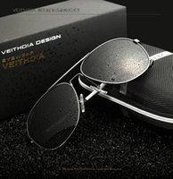 Wholesale Aluminum Magnesium Aviator Polarized Sunglasses Men Driving Mirror Sun glasses Male Eyewear Accessories Goggle Oculos