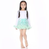 pettiskirt set - Children Outfit Lace Pettiskirt Set Long Sleeve Top Set Boutique Clothing For Girls Diffenrent Colors Drop Shipping