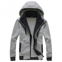 Cheap New Mens Fashion Casual Slim Fit Zip-Up Hoodies Coats Jackets Tops Sweatshirt NW177