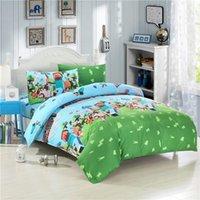 comforter - HOT NEW Drop Ship In Stock Minecraft Bedding Set Kids Bedding Set Duvet Cover Flat Sheet Pillow Case USA UK Size