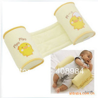 Wholesale Anti rollove Baby Pillow Toddler Safe Cotton Anti Roll Sleep Head Baby Pillow Positioner