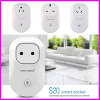Wholesale 10pcs Orvibo EU US UK AU Standard Power Socket WiFi Smart Switch Travel Plug Socket Home Automation app for iphone Android Smartphone