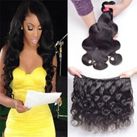 Wholesale Ms Lynn Virgin Hair Products Brazilian Unprocessed Body Wave Human Hair Bundles Remy Human Hair Extensions Dyeable A Grade