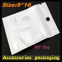 Wholesale Customized personalized packaging factory direct large cash grant pearl white bag transparent OPP bag