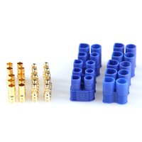 battery terminal types - 5 Pairs Male Female EC3 mm Type Battery Connector Gold Battery Connector Bullet Plug PTCT Battery Terminal Connector
