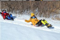 Wholesale snow pad sled child toy sport sleigh snowboard snow scooter Skiing sledge