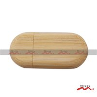 bamboo producers - 1GB Memory Stick USB Drive Pendrive Factory Producer Engrave Logo Good Quality Bamboo