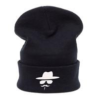 Vintage hiver chaud Hommes Cap Mesdames Slouch Beanie tricoté Sport Oversize Beanie chapeau Casual pour Noël