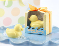 Bath & Soaps Favors baby shower favors free shipping - Baby Shower Favor Gift Set of Rubber Ducky Soap Favors Wedding Gifts Wedding Favour Supplies