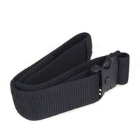 adjustable nylon tie strap - NEW Adjustable Nylon Survival Tactical Waist Belt Military Fastener Dual Safety Waistband Strap