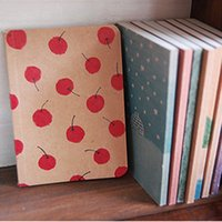 Wholesale korean Stationery New vintage style paint pattern Notebook Paper Notepad C001