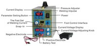 Wholesale free shiping DHL Pulse Battery Spot Welder Welding Machine Micro computer Battery Charger A mm V