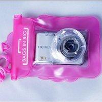Wholesale Outdoor swimming float waterproof camera bag digital telescopic camera waterproof bag rafting bag