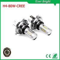 h7 super white - Super Bright H4 LED lights Fog Lights CREE Chip K White W smd High Power Fog Beam Headlight H4 All bulbs Sizes