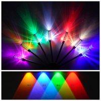 bedside fan - Colorful fashion led fan shaped w wall lamp background light bedroom bedside lamp ktv decoration lamp