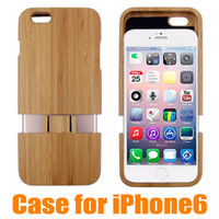 wooden case - 2pcs up Wooden wood in Case for iphone Back Cover Cell Phone Case for iphone6 High Quality