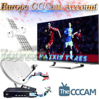 Wholesale Europe Cccam Stable Cline Server for Year Satellite Decoder Receiver Spain Sky UK Germany France Italy Months Iks Cccam