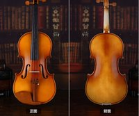 Wholesale HOT PROMOTION Tianyin Brand New Handmade Selected Solid Spruce Wood Pattern Violin Beginner Violin