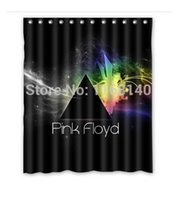 band shower curtain - DIY pink floyd band album Shower Curtain x180cm High quality Waterproof bath curtain
