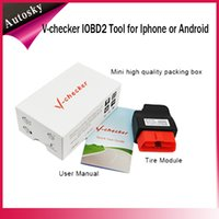 audi manufacturing - 2015 New Released V checker IOBD2 Tool for Iphone or Android Suitable for All OBD Standard Cars Which Manufactured After
