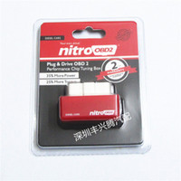 Wholesale 2015 New Arrival NitroOBD2 Diesel Car Chip Tuning Box Plug Drive OBD2 Chip Tuning Box Lower Fuel and Lower Emission