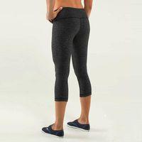 yoga - New WUNDER UNDER CROP Discounte Candy Colors Crops Yoga Capris Sport Pants Legging Women capris yoga exercise Yoga Outfits