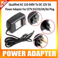 Wholesale Qualified AC V To DC V A Power Supply Adapter For CCTV Camera System EU US UK AU Plug