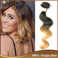 Cheap blonde ombre hair Best 613 ombre virgin hair