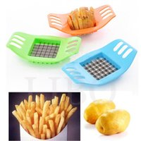 Wholesale Garlic French Fry Potato Chip Cut Cutter Vegetable Fruit Slicer Chopper Chipper Blade Peelers Zesters Kitchen Tools Dicer Knife