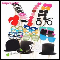 Wholesale Photo Booth Set Festive Party Supplies Photo Props Party Favors new wedding party photography props wedding decoration