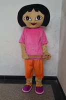 dora mascot - new style Christmas fancy dress Adventure Dora Mascot Costumes halloween easter Performance Animal adults costumes for guys