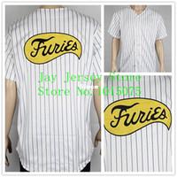 baseball team uniforms - 30 Teams Stitched FURIES Baseball JERSEY Sport Movie uniform The Warriors Costume