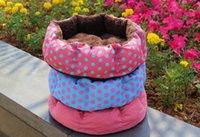 Wholesale Pretty Soft Dog Cat Bed House Cozy Warm Pet Nest Removable Washable
