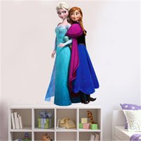 Wholesale 2015 frozen wall sticker home decoration cartoonsremovable wall vinyl wall decorations living room wall stickers for kids rooms wall decor