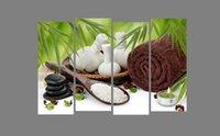 art salt - Original US high tech HD Canvas Print home decor wall art painting No Framed spa towel salt bamboo PC