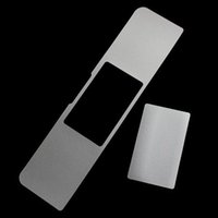 Wholesale Half Body Film Guard Sticker Shield Accessory For Apple Macbook Mac Book Air Pro Retina With Retail Package