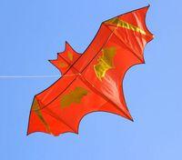 Wholesale NEW Huge m Bat Kite Single line Novelty Animal Kites Children s Toys Red Color