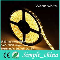 Wholesale led strip light smd single color IP20 DC12V p m m roll led light strip fit christmas led strip light outdoor use