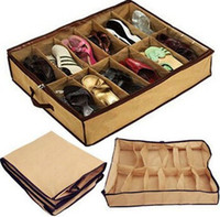 storage containers - Closet shoes Organizer Under Bed Storage Holder Box Container Case Storer For Shoes