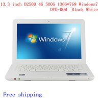 computer camera - 13 inch laptop computer DVD ROM intel D2500 D2600 GHZ Dual Core GB GB windows camera laptop notebook N132C