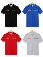 Wholesale Brand Men s Polo Shirt KTM Dakar Rally off road car motor sports car lovers Polos Cotton Short Sleeve shirt KTM short sleeve