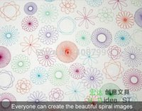 Wholesale by DHL Fedex Spiral Art Tool Spirograph Ruler Great Funny Gift Creative Drawing Set ruler