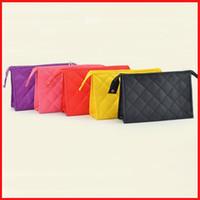 Wholesale 5 colors fashion Women Cosmetic Bags handbag Makeup Bags large capacity storage Mini Travel Bags coin bags for women girl