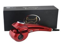 Wholesale 2015 New Hair Styler Showliss Pro LCD Hair Curler Automatic Universal Voltage Perfect Effects Short Time No Damage for Hair
