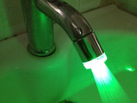Wholesale The new LED faucet light The micro strange new faucet light Light color faucet