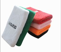 Wholesale Factory Direct Sale towels Sports Wrist Support multi color Running sweatband Wrist Support LOGO and size can be customized