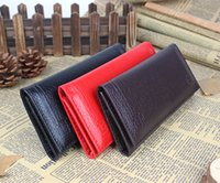 Wholesale m387 freeshipping Men s simulation purse female wallet mirror wallets Ladies Long Wallet
